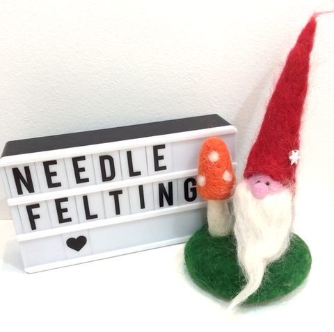 Needle Felting ~ Christmas ~ Santa/Elf