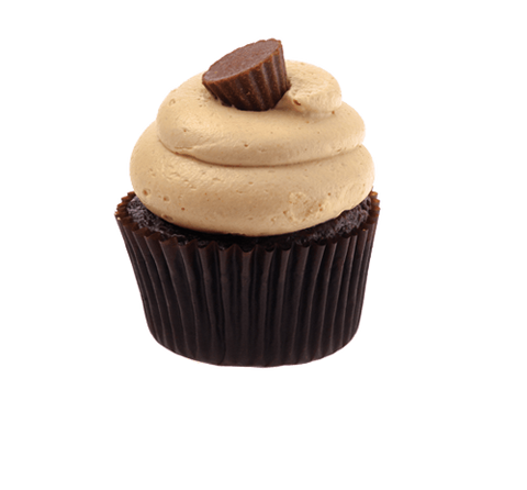 Chocolate Peanut Butter Party Cupcake - Cakeforyou