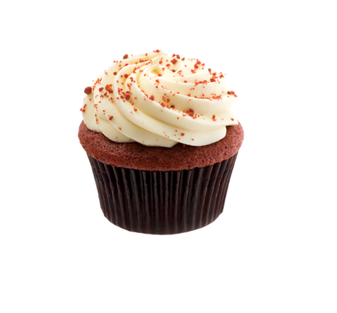 Red Velvet Party Cupcake - Cakeforyou