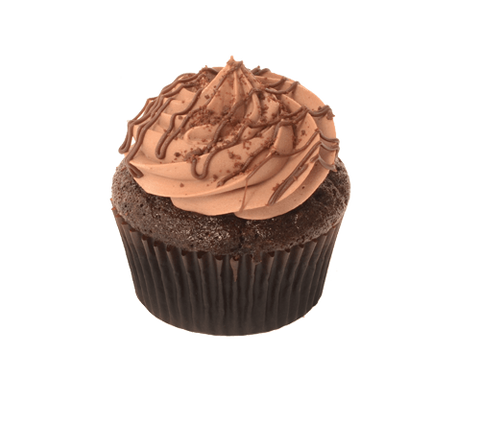 Triple Chocolate Fudge Party Cupcake - Cakeforyou