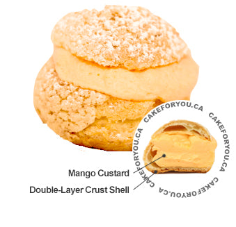 Mango Cream Puff