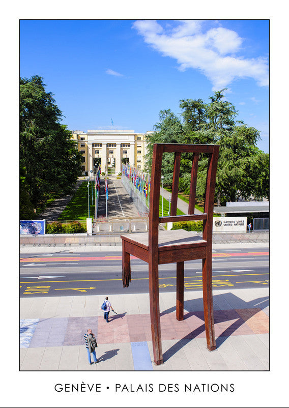10281 - Geneva - Broken Chair, place des Nations, Switzerland