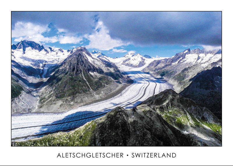 ALETSCHGLETSCHER - GLACIER D'ALETSCH - SWITZERLAND