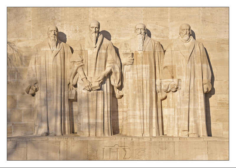 10413 - Geneva - Monument to the Reformation,  FAREL ∙ CALVIN ∙ BEZE ∙ KNOX, Switzerland