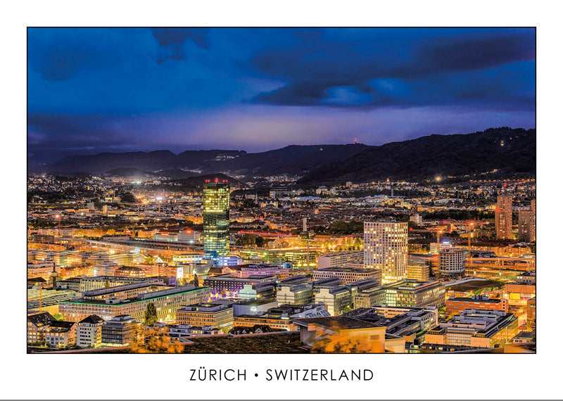 ZÜRICH - Westend by night - Switzerland.