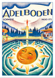 Postcard - ADELBODEN - Poster from 1933