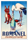 Postcard - ROMANEL - Poster about 1945