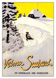 Postcard - SUCHARD - VELMA - Poster about 1915