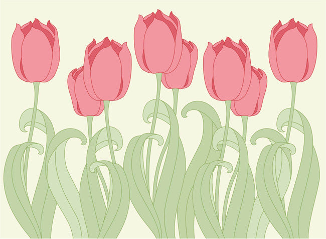 1-1127 - Red Tulips