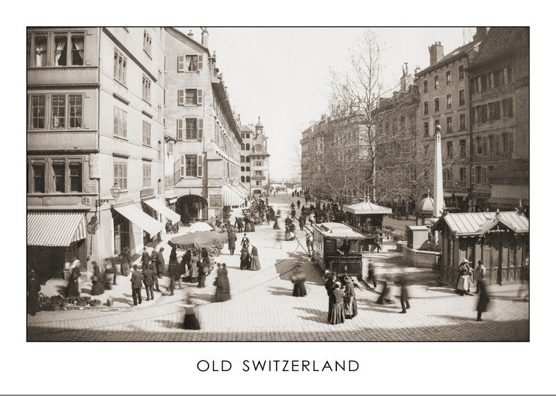 GENEVA, SQUARE MOLARD BEFORE 1896, SWITZERLAND