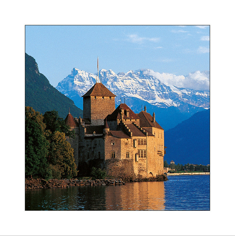 Le château de Chillon, Switzerland