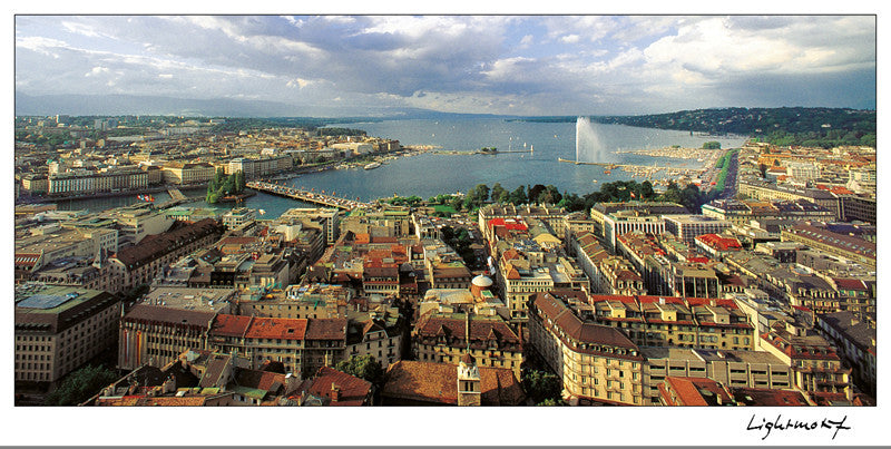 Geneva - View from St. Peter's Cathedral, Switzerland