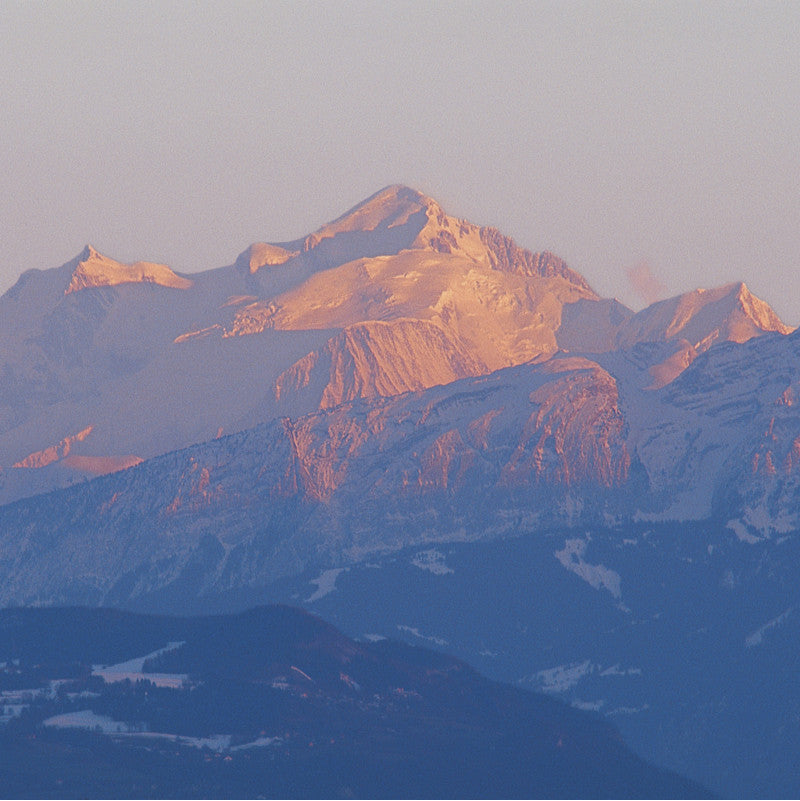 70065 - The Mont-Blanc seen from Geneva