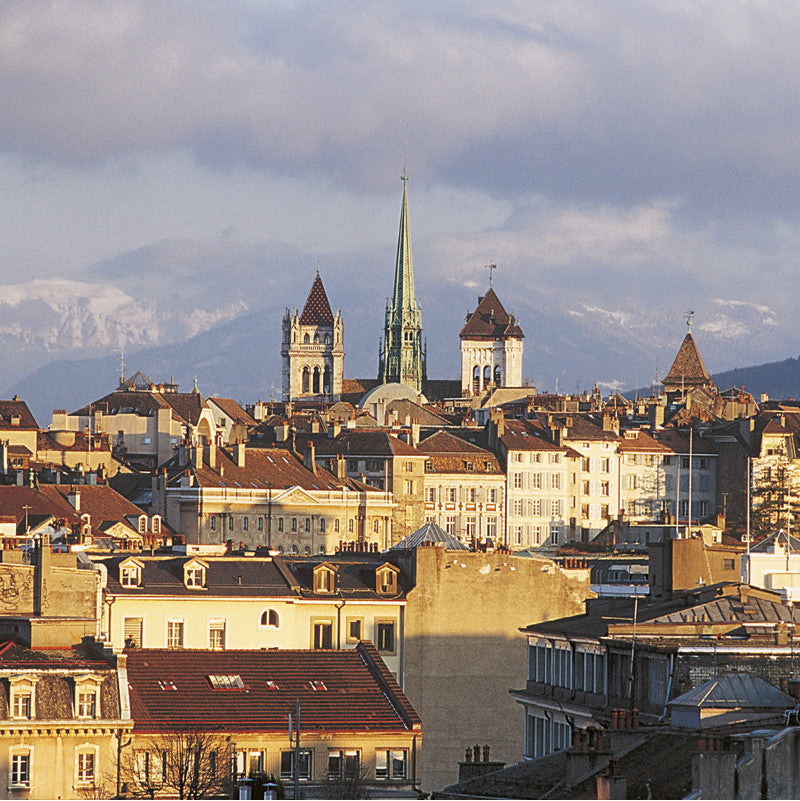 70253 - Geneva - Old town and St. Peter