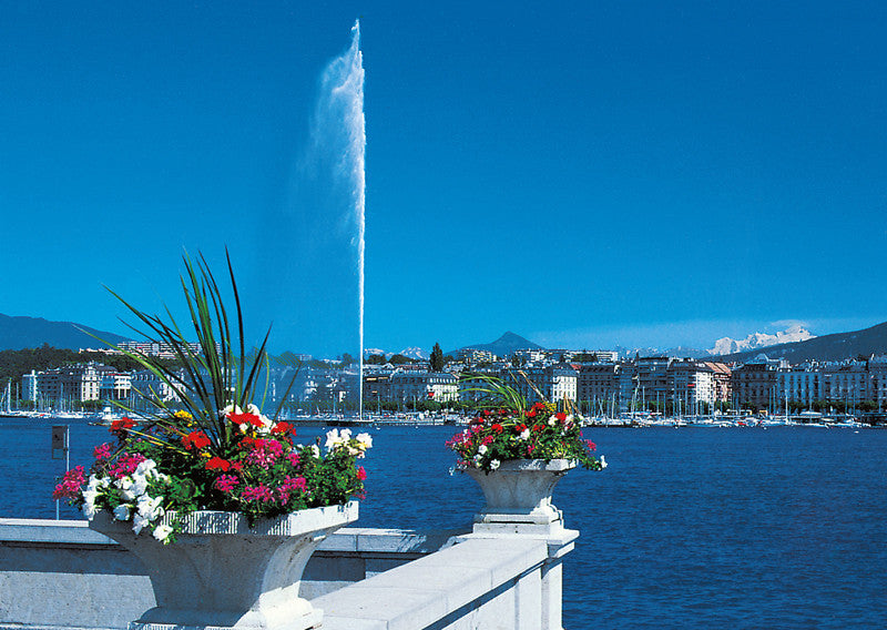 Geneva and the Mont-Blanc