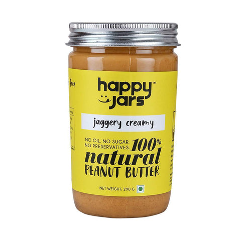 100% All Natural Peanut Butter- Jaggery Creamy