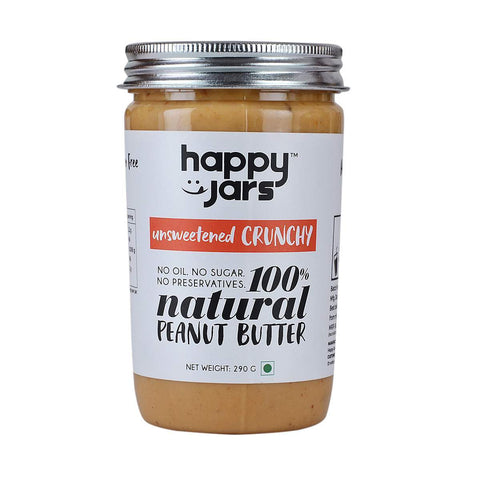 100% All Natural Peanut Butter - Unsweetened Crunchy