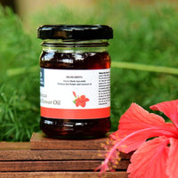 100% Natural Hibiscus Red Flower Oil
