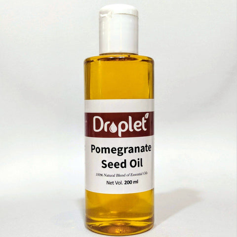 100% Pure Cold Pressed Pomegranate Seed Oil