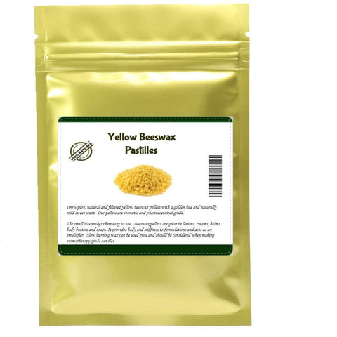 Yellow Beeswax Pastilles (100% Pure and Natural)