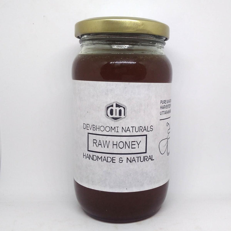 100% Pure & Natural Wild Raw Honey (Crafted By Wild Bees In the regions of the Himalayan Mountains)