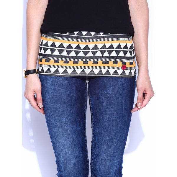 Aztec Printed Belly Band at Qtrove
