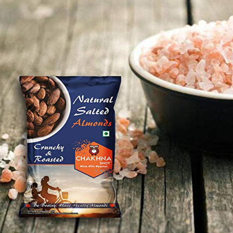 Himalayan Pink Salt Roasted Almonds ( Pack of 10)