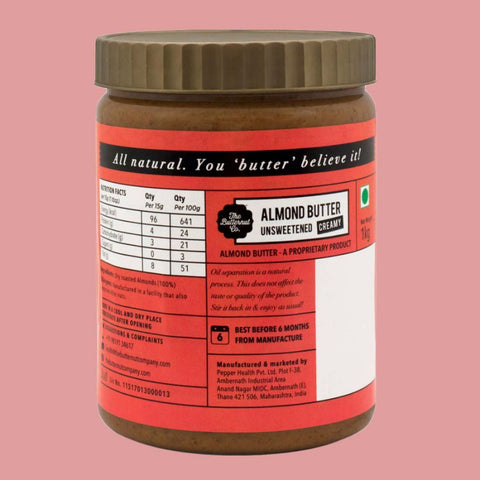 Unsweetened Peanut & Almond Butter Combo Pack (1Kg Each)