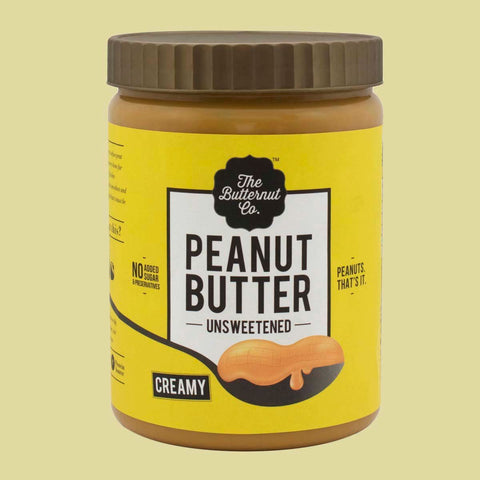 Unsweetened Peanut Butter (1kg) & Unsweetened Almond Butter (200gm) Combo Pack