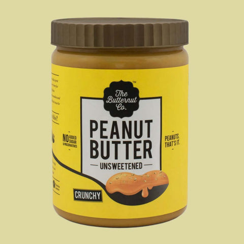 Crunchy Unsweetened Peanut Butter & Unsweetened Almond Butter ( Pack Of 2)
