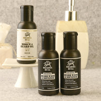 1 Beard Oil Skin And Set of 2 Beard Wash For Oily Skin