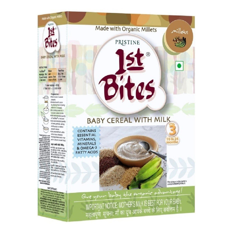 1st Bites - Baby Cereal Millets Stage - 3 (10 Months - 24 Months)