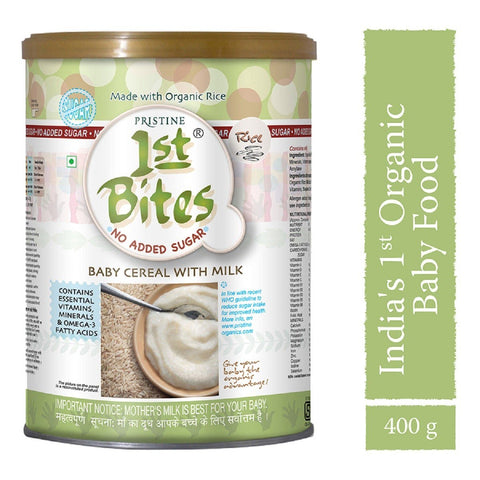 1st Bites - Baby Cereal Rice (No Added Sugar)(6 Months - 24 Months)