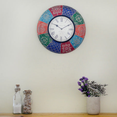 Handpainted Wall Clock