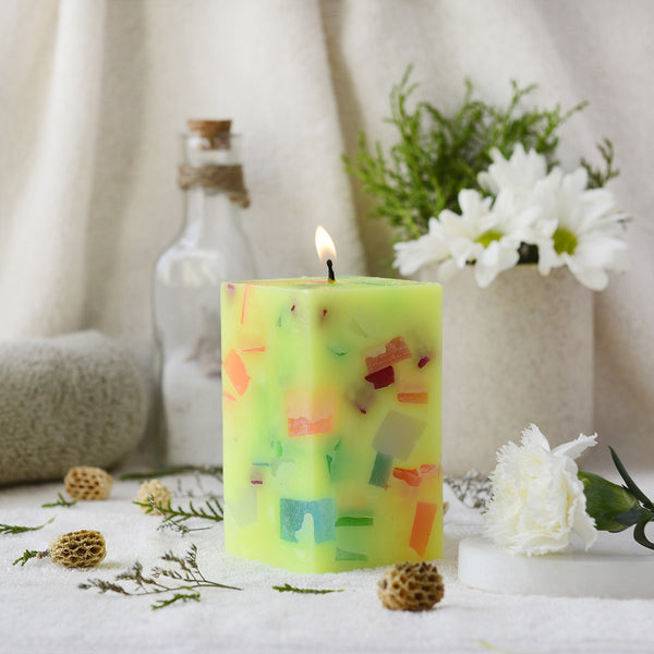 Colors of Earth Series Candles - Vayu at Qtrove