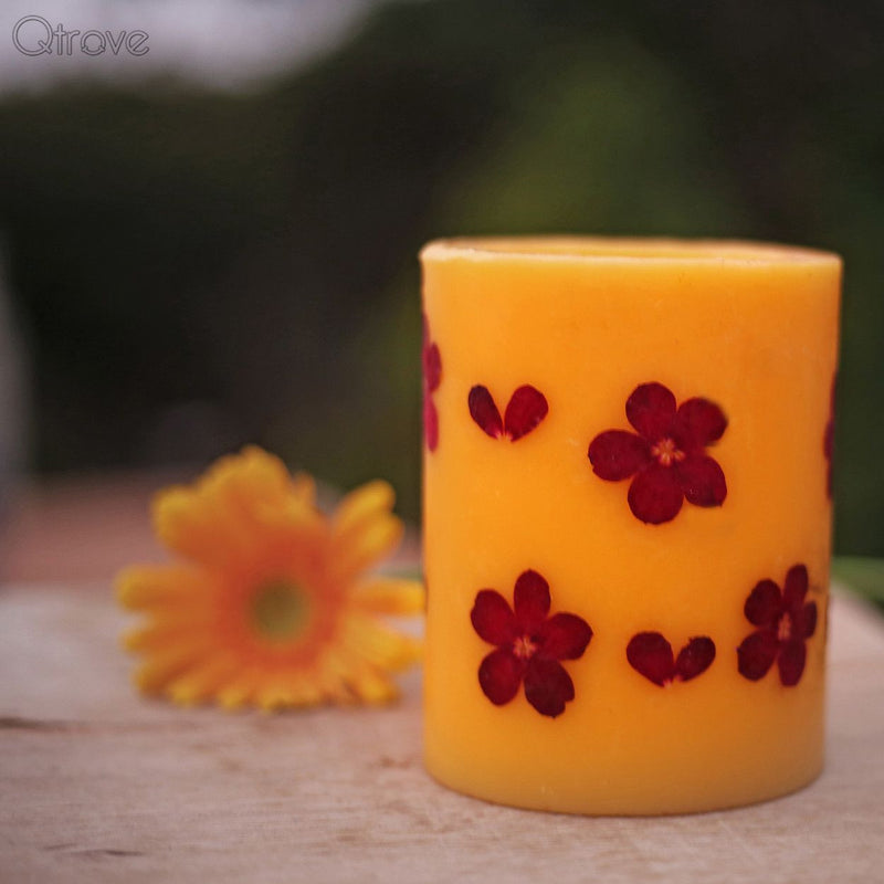 Rose Scented Aromatic Candle