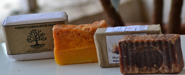 Handmade Brown Soap Combo (Pack of 2) at Qtrove