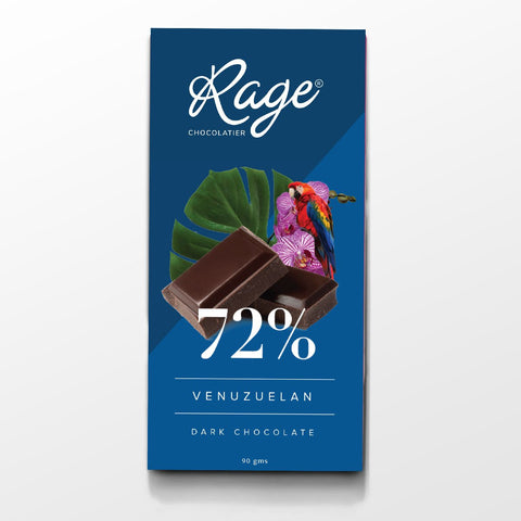 72% Venuzuelan Dark Belgian Chocolate Bar