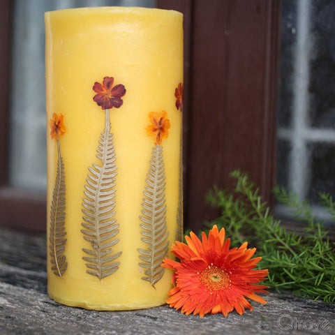 Lemongrass Scented Aromatic Candle