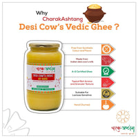 A2 Desi Cow Ghee (Glass Bottle)