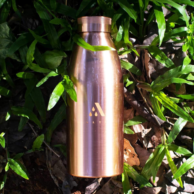 Seamless Copper Bottle (650 ml)