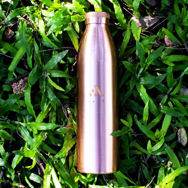 Seamless Copper Bottle (1000 ml)