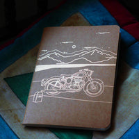 Handbound Cities of India Leh Notebook