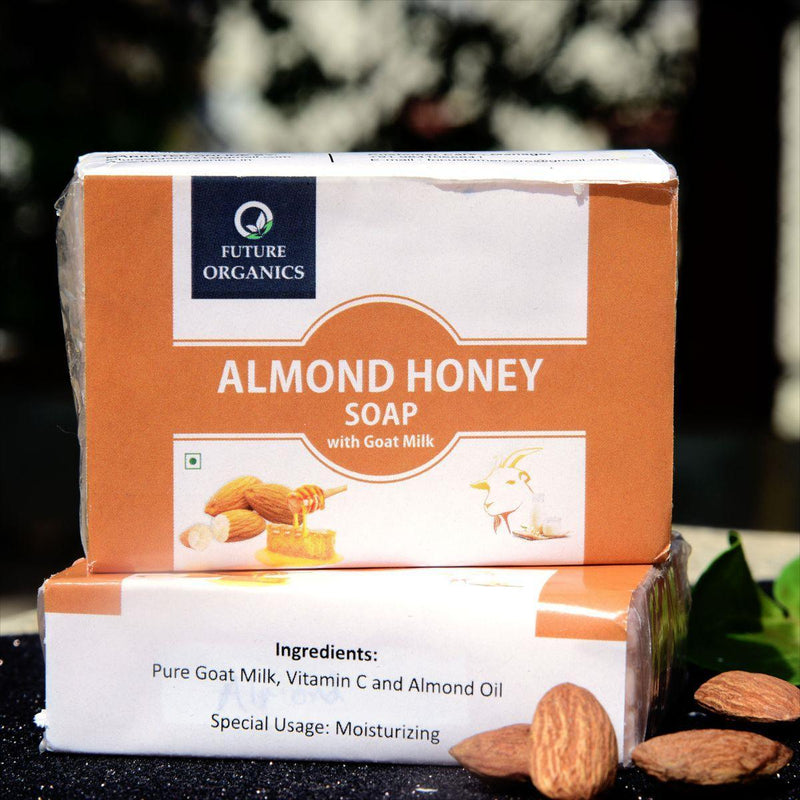 ALMOND HONEY SOAP Pack of 2