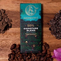 Dark Chocolate - 55% Cocoa Signature Blend Multi Origin (Vegan and Gluten Free)