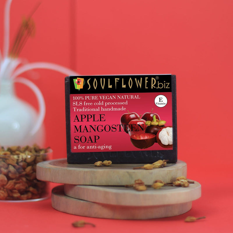 Apple Mangosteen Soap (For Anti-aging)