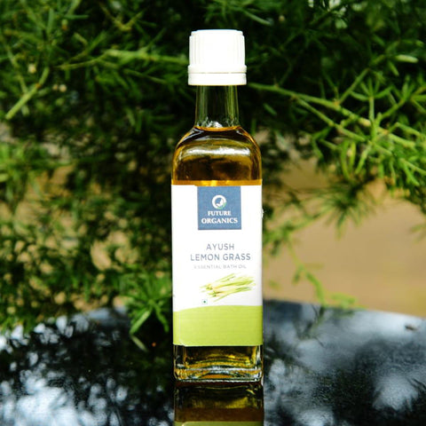 Ayush Lemon Grass Essential Bath Oil