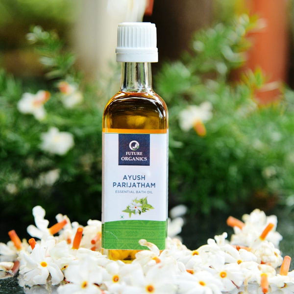 Ayush Parijatham Essential Bath Oil at Qtrove