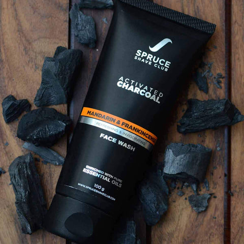 Activated Charcoal Face Wash with Natural Honey For Acne & Oil Control