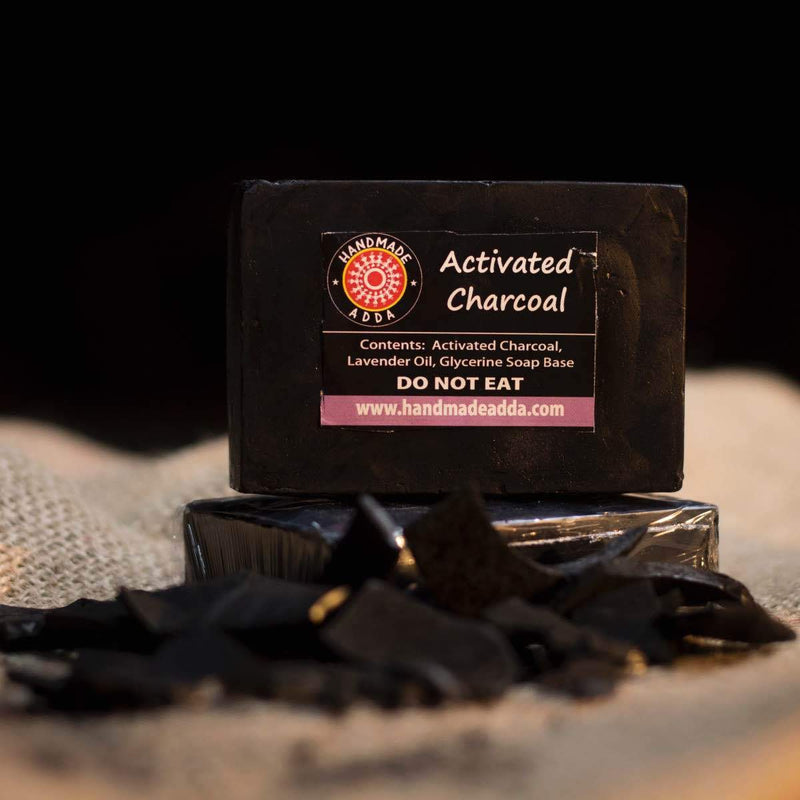 Activated Charcoal Soap (Pack of 2)